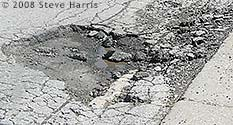 Photo: Road Pothole
