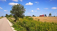 Photo: Trail & Barn