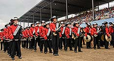 Richmond Band Waits to Perform at the 2014 State Fair