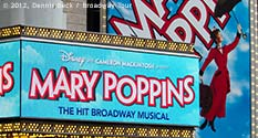 Photo: Mary Poppins @ New Amsterdam Theatre on Broadway - Photo Credit: Dennis Beck / Broadway Tour