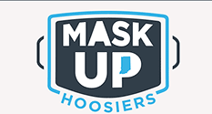 Graphic: Mask Up Hoosiers