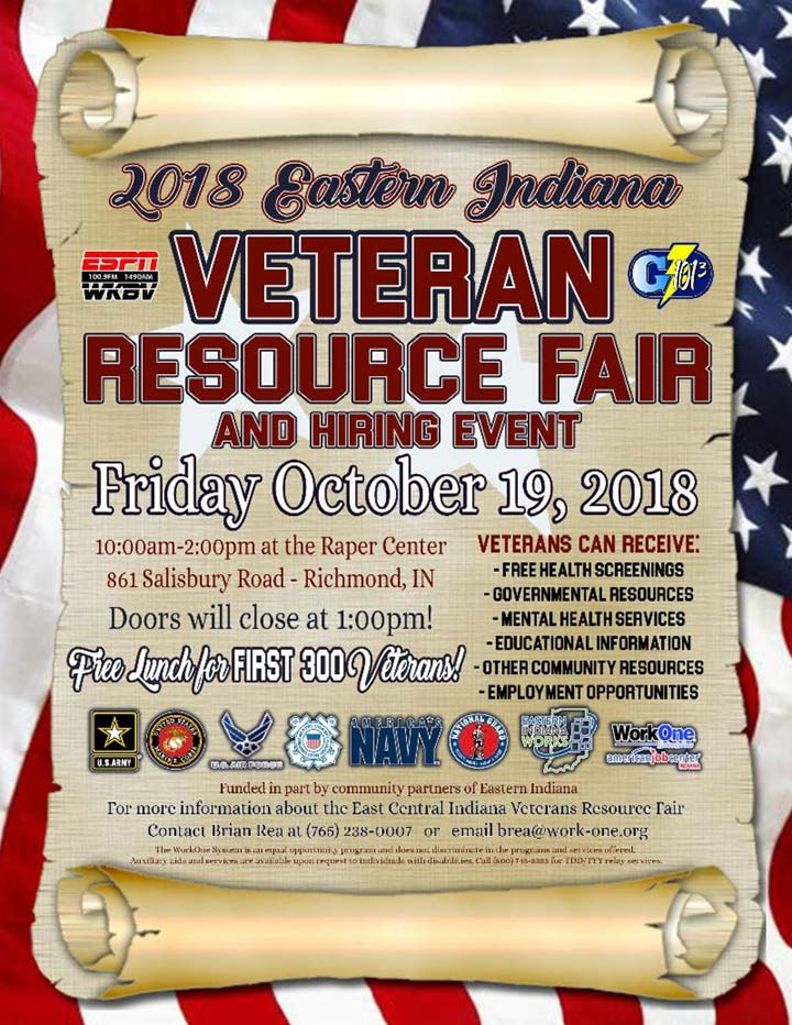 Supplied Flyer: Veteran Resource Fair