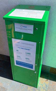 Supplied Photo: Green Receptical