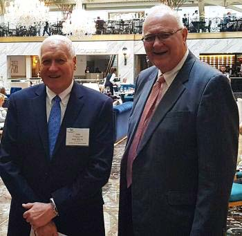Supplied Photo: Tom Hilkert and Jon Ford on a trip to Washington D.C.