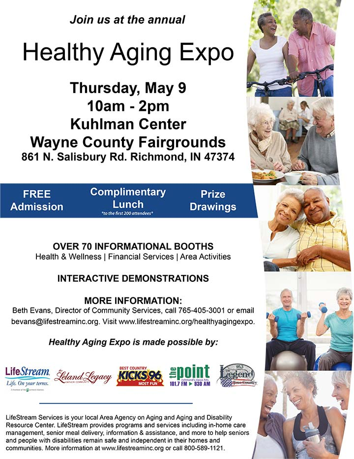 Supplied Flyer: Healthy Aging Expo