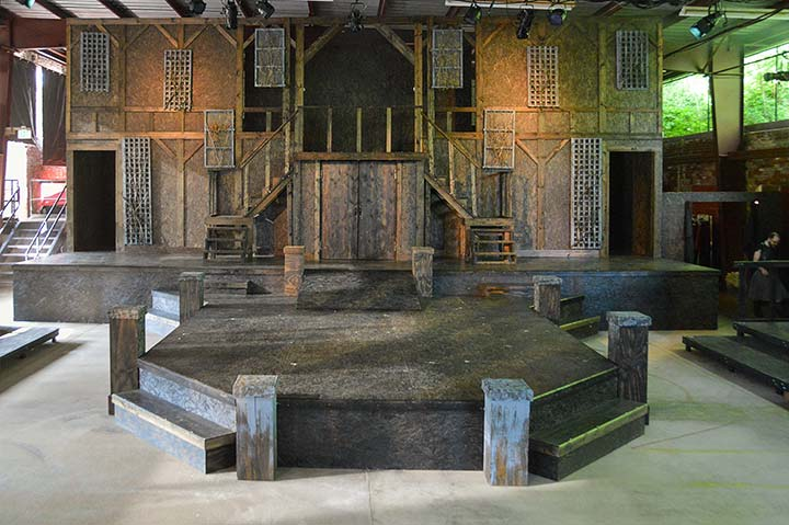 Supplied Photo: Richmond Shakespeare Festival Stage
