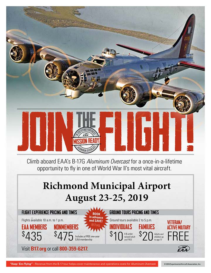 Supplied Flyer: See the B-17