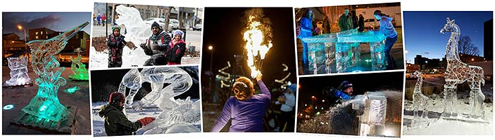 Supplied Photos: Meltdown Ice Festival Events
