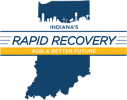 Logo: IN Rapid Recovery