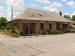 Photo: Chesapeake & Ohio Railroad Depot and Freight Office