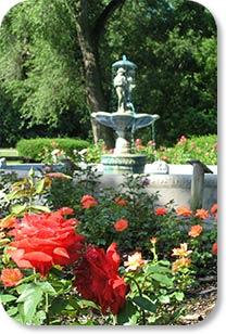 Richmond Indiana A A R S Rose Garden